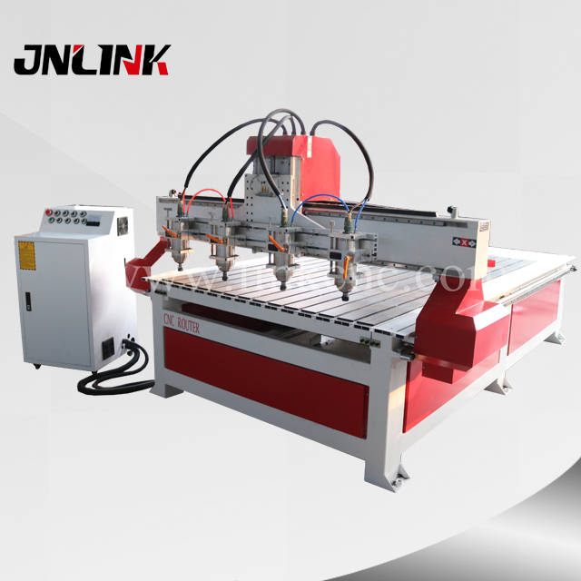 Easy operation cnc wood router machine price LXM1525-4 hot sale