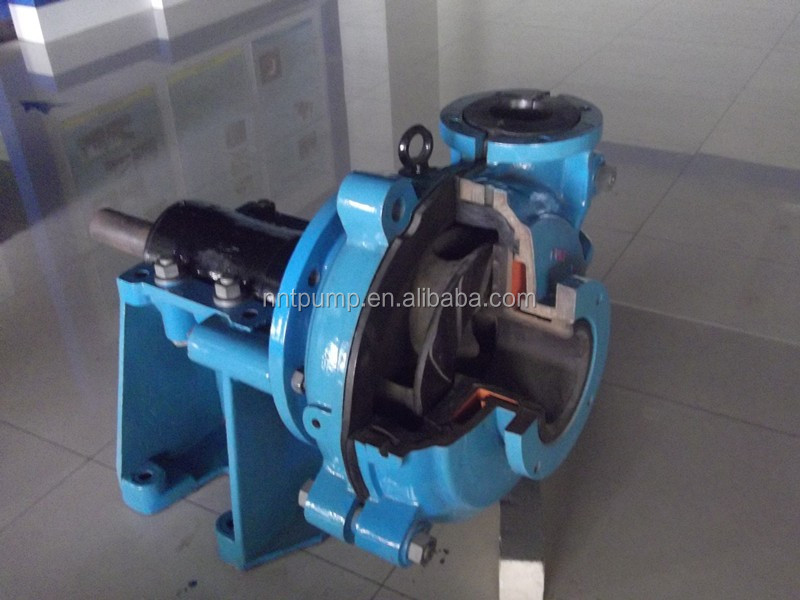 Anticorrosion Cutaway View Slurry Pump