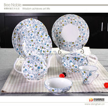 dinnerware sets cheap,home goods tea sets, exclusive porcelain dinnerware hot sale in china