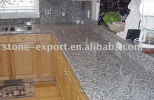 China granite countertop with wooden cabinet