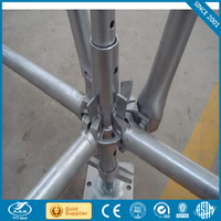 Hot selling used cuplock scaffolding system building materials scaffold system standard