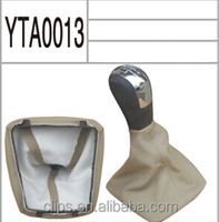 Gear shift knob cover & Gear shift knob leather boot for cars