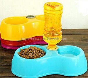 High quality double pet bowl / pet water bowls feeder