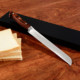 pakka wood handle stainless steel chef knife bread knife 8 inch