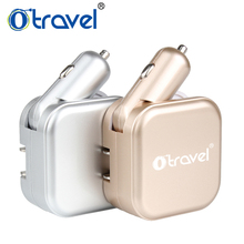 Otravel Germany, France, Indonesia, Korea usb travel adapter car and wall charger ac dc battery charger