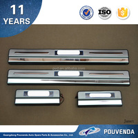 LED Door Sill/Door Scuff Plate car auto exterior accessories For SYLPHY 12+ From Pouvenda