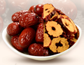 Organic seedless Jujube dates circles