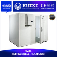 meat processing prefabricated cold storage for chicken