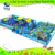 Castle themed indoor playground big ball pool with slide for sale