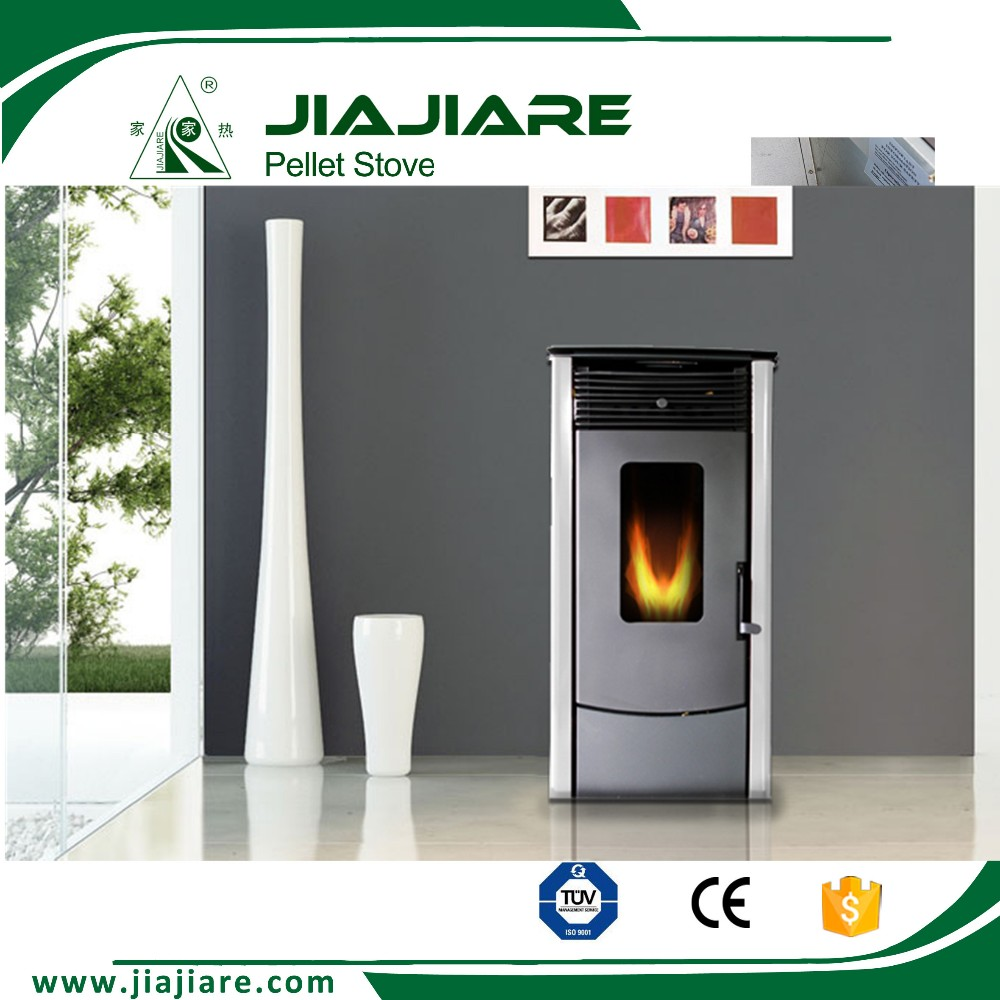 10kw modern wood pellet fireplace stove