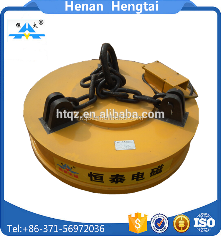 crane bundle steel lifting magnet for handling scrap