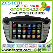 ZESTECH China 2 din radio gps with Russian Turkish Language android car gps for Hyundai IX35