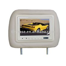 7``TFT high definition universal LCD car headrest monitor GT-722