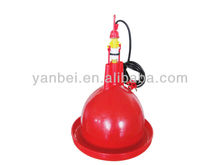 Chicken or Duck Plastic Poultry Plasson Bell Drinker