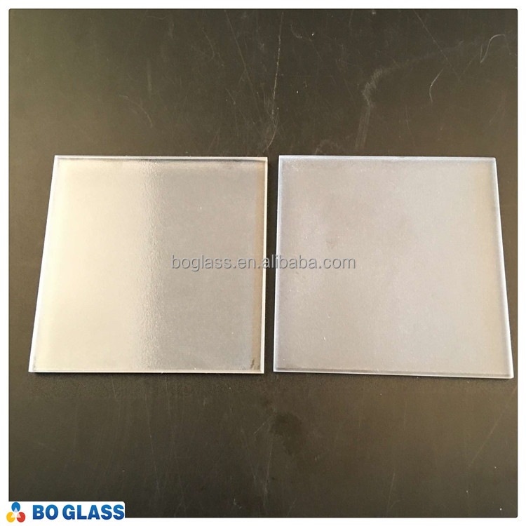 High precision glass tempered glass for laboratory/colored glass pieces for crafts