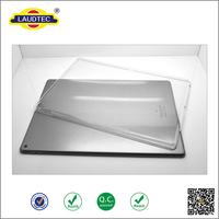Clear Crystal Tablet hard Case cover for ipad pro 12.9 inch -----Laudtec