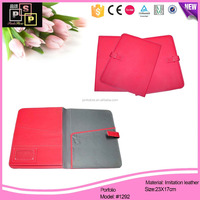 China Supplier Cheap Multifunctional PU Leather portfolio