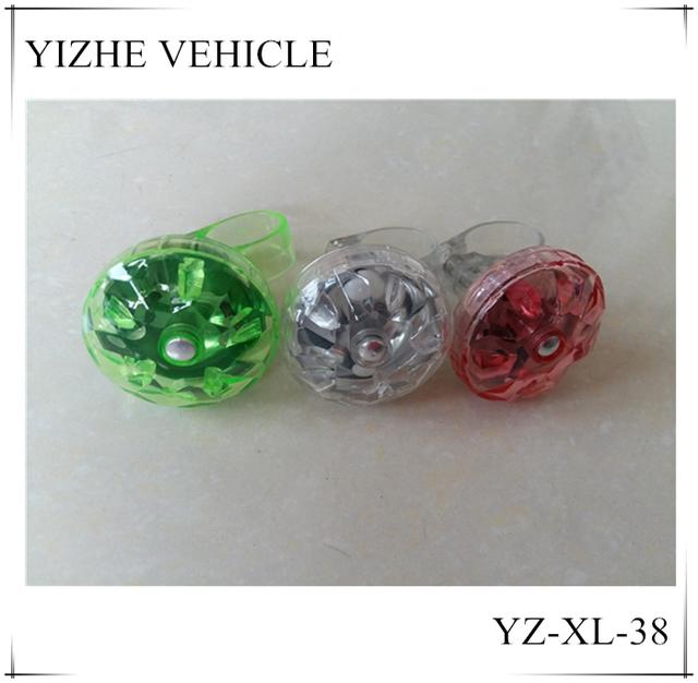 Beautiful crystal bike bell kids gifts toy metal bell