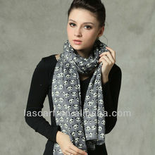 noblest and fashion wool scarf shawl for gift(WP025L)
