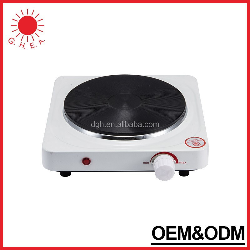 Guanghui OEM&ODM solid single burner electric stove hot plate