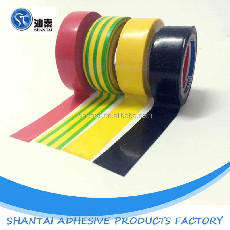 high quality hot sale pvc insulation eletrical tape with good weather resistant