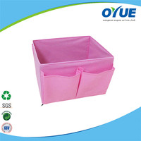 Good quality custom printed non woven sundries storage box