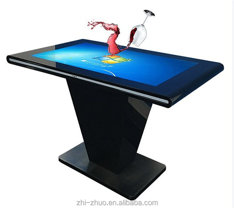 3G/Wifi/ HDMI/ LED Monitor 4K UHD Interactive Multi Touch VR Table