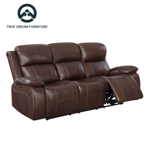 Motion fabric electric power recliner fancy sofa furniture