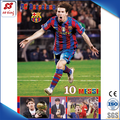 Manufacturer Direct Wholesale 2015 Newest Footabll Super Star 3D Poster Printing