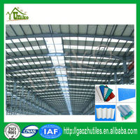 2.0mm excellent corrosion resistance color uv resistant clear pvc roof made in China