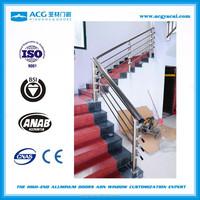2016 factory new design aluminum handrail for stairs/balustrade