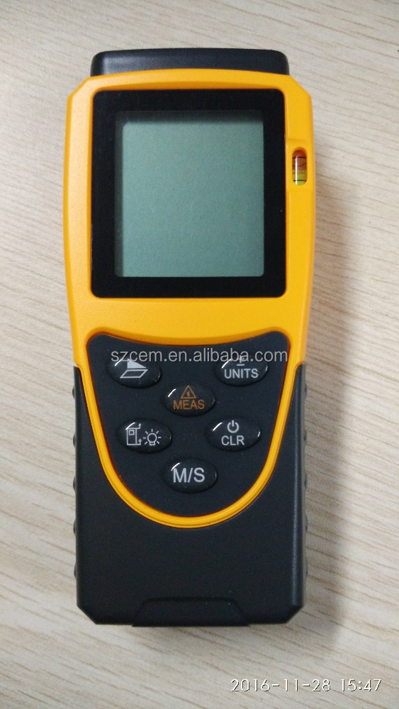 DT3001 Laser digital distance meter with screen outdoor bubble level laser measuring tool diatimeter area volume tester tools