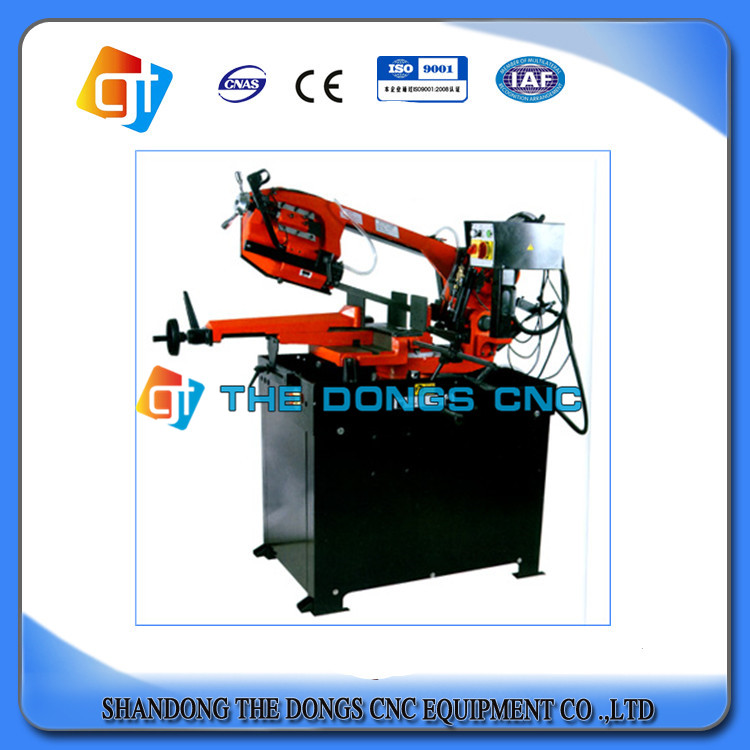 Horizontal dual column dual variable speed rotary metal processing Metal band saw G5025