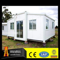 construction design steel structure prefabricated 20 ft expandable container