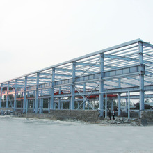 Rookwool sandwich type steel structure factory workshop