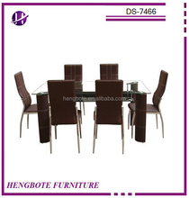 Dining Table with 6 Sex Chair Hot Sales Dining Sets Furniture