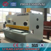 Hot sale hydraulic electrical shear machine for steel 6mm E10 metal cutter guillotine 10feet