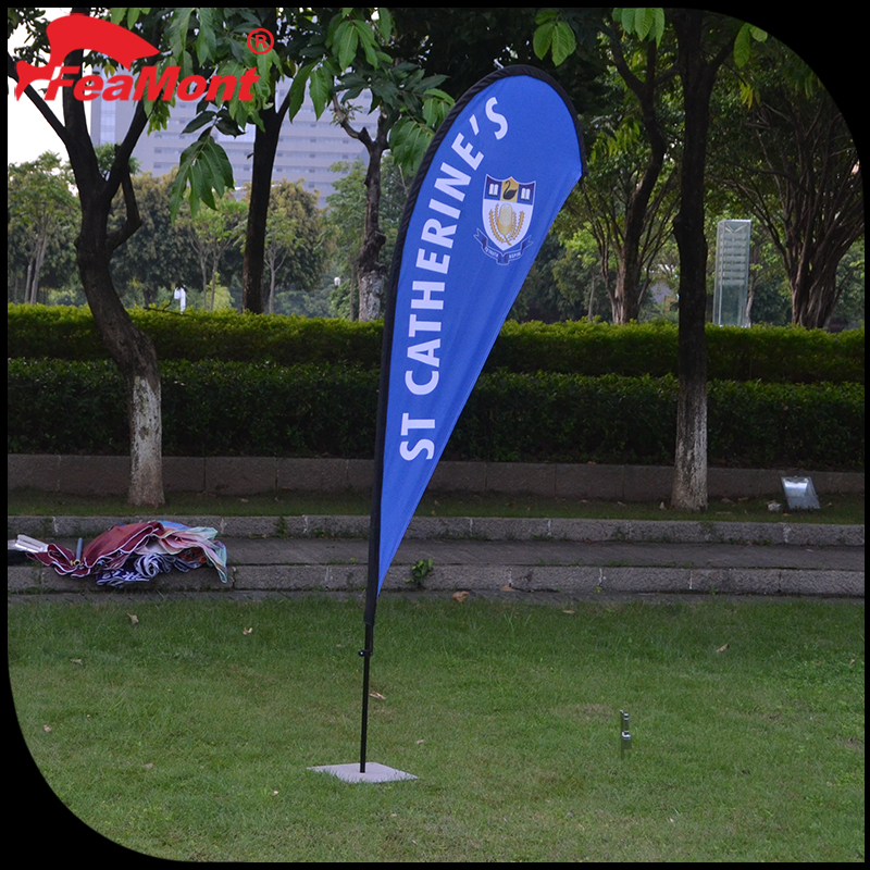 100% polyester customized print thin blue line flag