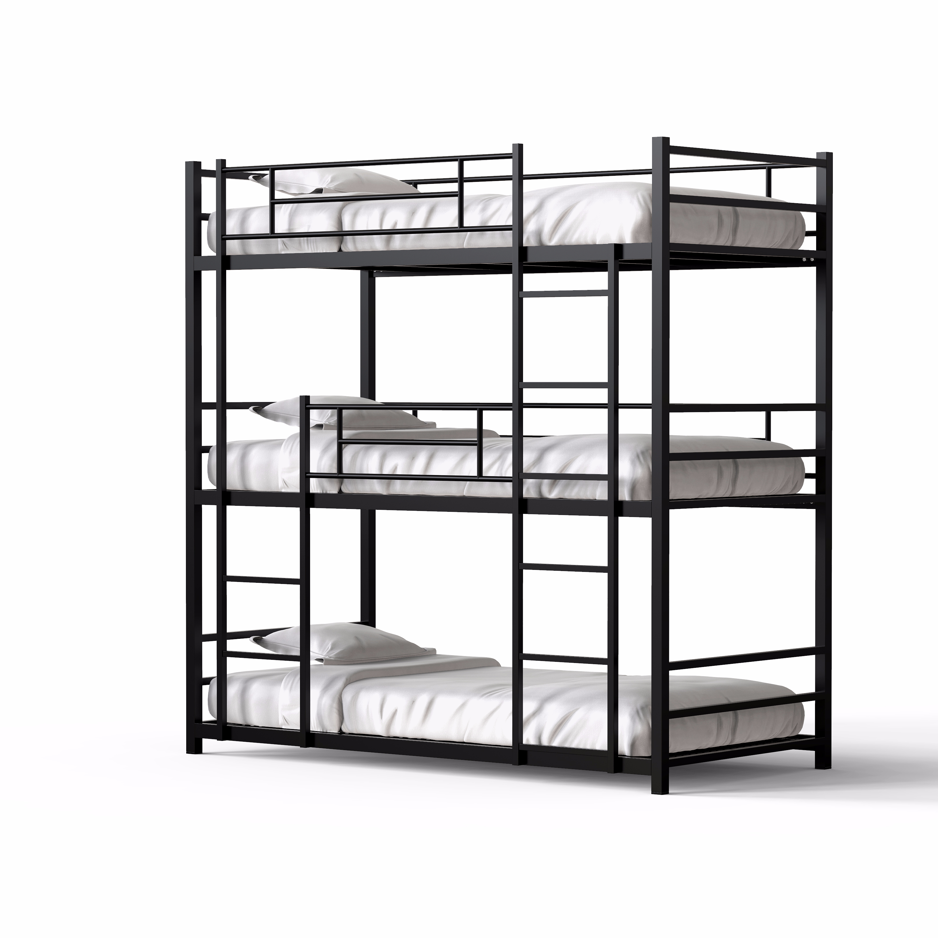 Metal triple bunk <strong>bed</strong> dormitory steel locker hostel <strong>beds</strong> 3 layer metal bunk <strong>bed</strong> with wire mesh bedroom furniture