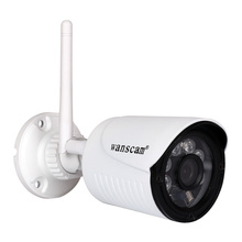 Mini Size Wireless Outdoor Bullet IP Camera 2.0 Megapixel P2P Onvif IR 15M