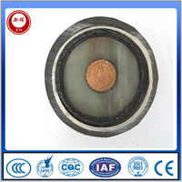 high voltage Corrugated aluminum sheath xlpe power cable