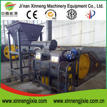 Xinneng made hot stamping screw conveyor briquette press machine for rice husk sawdust