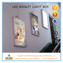 Back light movie poster light box display 27inches x 40inches