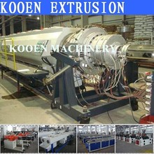The best selling hdpe plastic pipe production machine