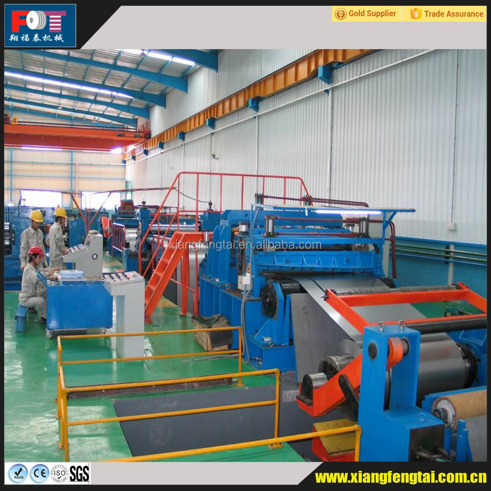 Professional steel slitting strip machinery line manufacturer