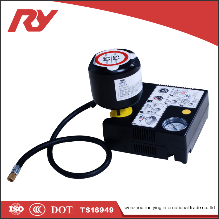 RUNYING Fancy Goods 2 In 1 Tool Tire Sealer And Inflator , Puncture Repair Liquid Tyre Sealant