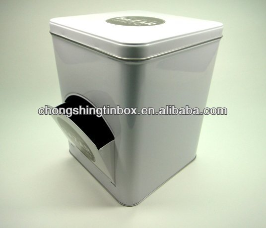 Washing machine coffee & tea packaging tin box