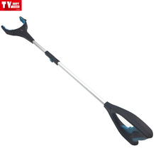 Just a click grab it quick Home lightweight Reacher Grabber Pick Up hand Tool with buit in LED light