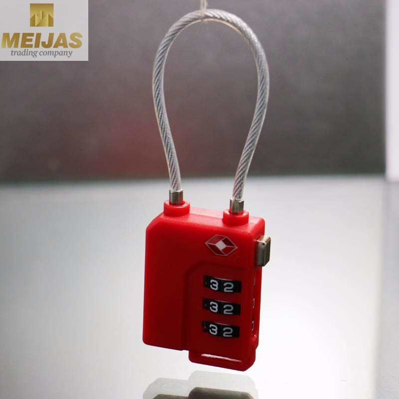 combination digital lock Sale Durable TSA Luggage Lock Supplier,New Hot3-dial
