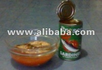 Sardines in can (Natural and Spicy)